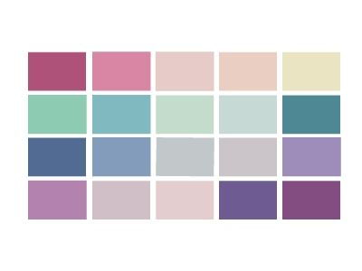 Summer Palettes