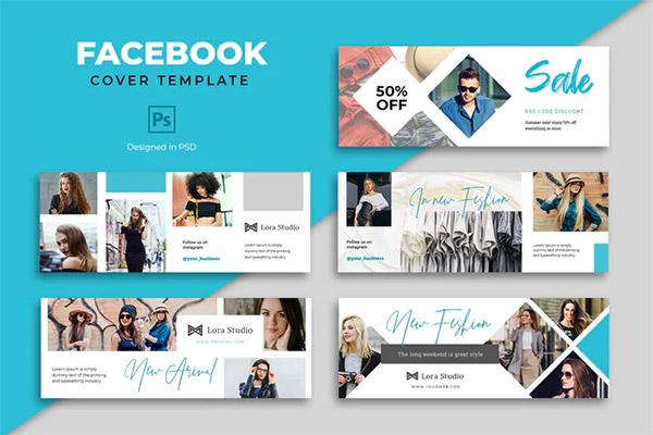 Facebook Fashion Cover Template Psd Free Psd Templates In 2021 Facebook Cover Template Cover Template Facebook Cover Design