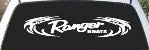 Ranger Bass Boats Tribal Decal 9x24 Bass Boat Tribal Decals Boat
