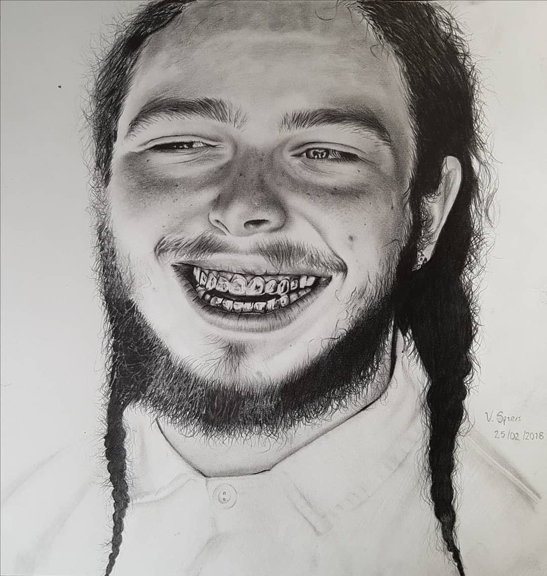 Post Malone I Fall Apart Guitar: Drawings, Sketches, I Fall Apart