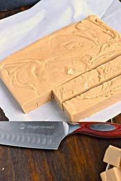 Maple Peanut Butter Fudge is great summertime fudge. So easy, and no oven required!