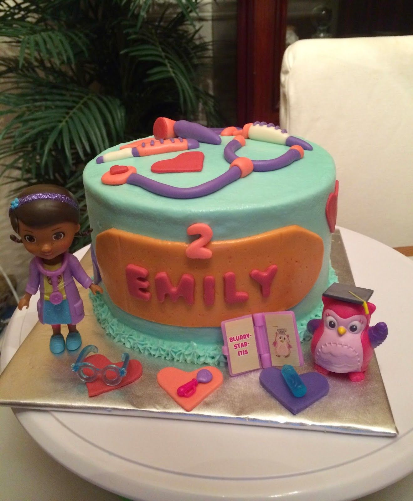 Joyce Gourmet Doc Mcstuffins Birthday Cake Personajes Character