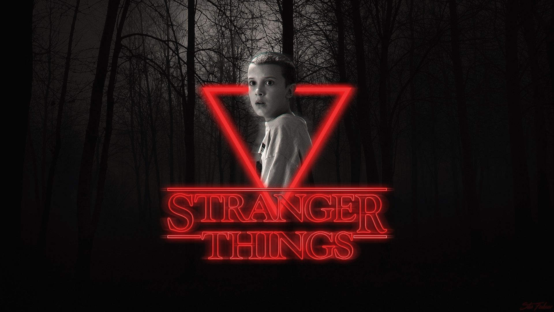 1920x1242 Eleven Stranger Things Download Latest Wallpaper For Pc Stranger Things Wallpaper Eleven Stranger Things Stranger Things Poster