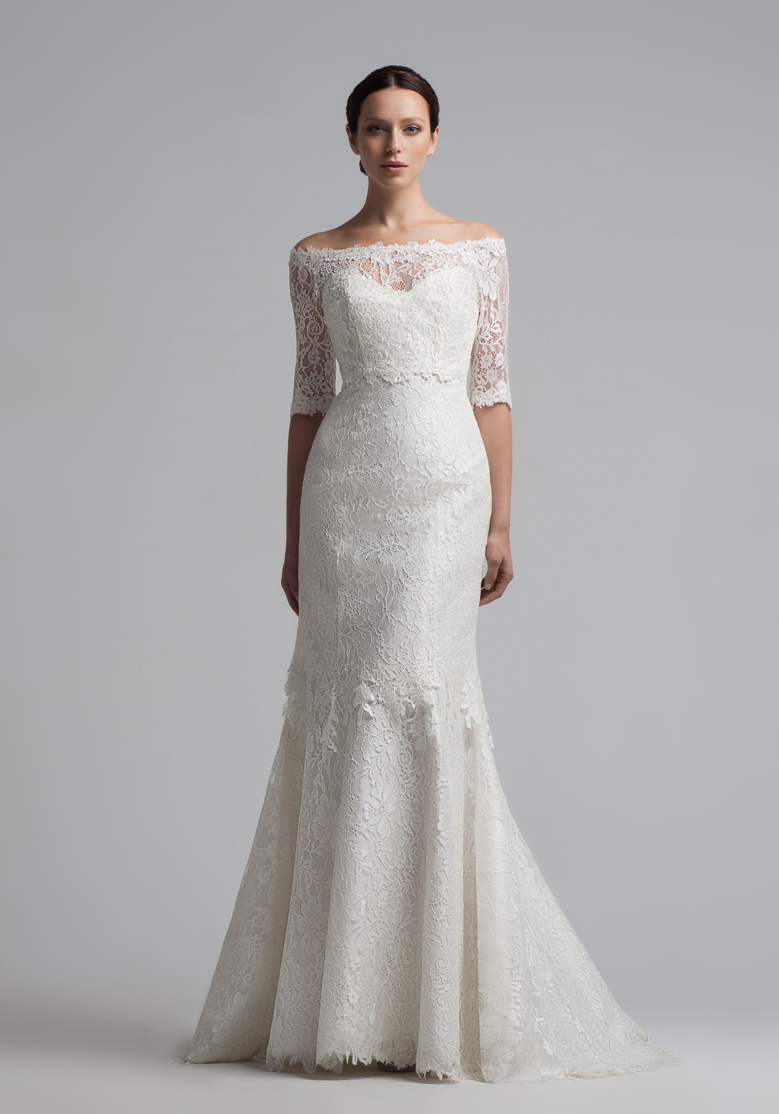 Bristol A Clical Wedding Dress For Those Who Love French Lace