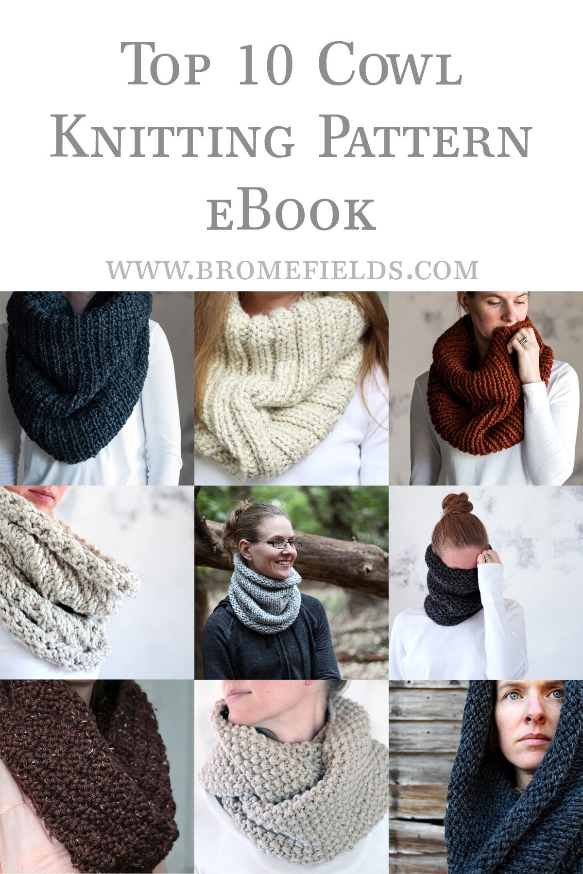 Top 10 Cowl Knitting Patterns | rico | Pinterest | Bufanda cuello ...