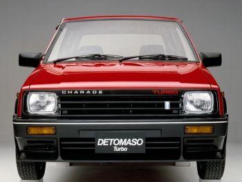 Daihatsu Charade De Tomaso Turbo G11 Fmjt 01 1984 02 1985