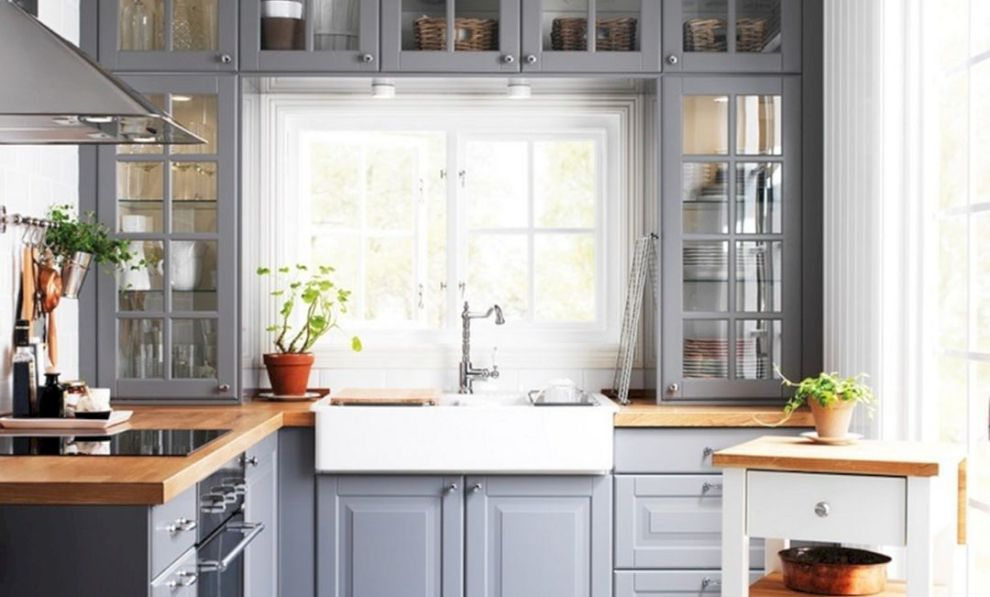 Top 14 Small Kitchen Cabinet Design Ideas To Inspire You - Kitchen remodel small, Kitchen cabinet design, Small kitchen cabinets, Kitchen remodel, Kitchen design color, Kitchen cabinet remodel - When you are building the kitchen in your home, it is also usually when you realize the importance of cabinets in the kitchen room  This is needed because the actual function of the cupboard in the…