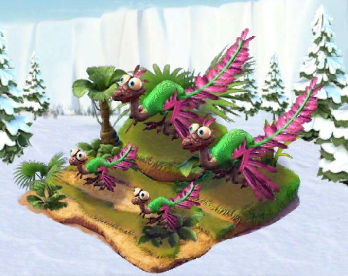 Ice Age Village... Archaeopteryx verde