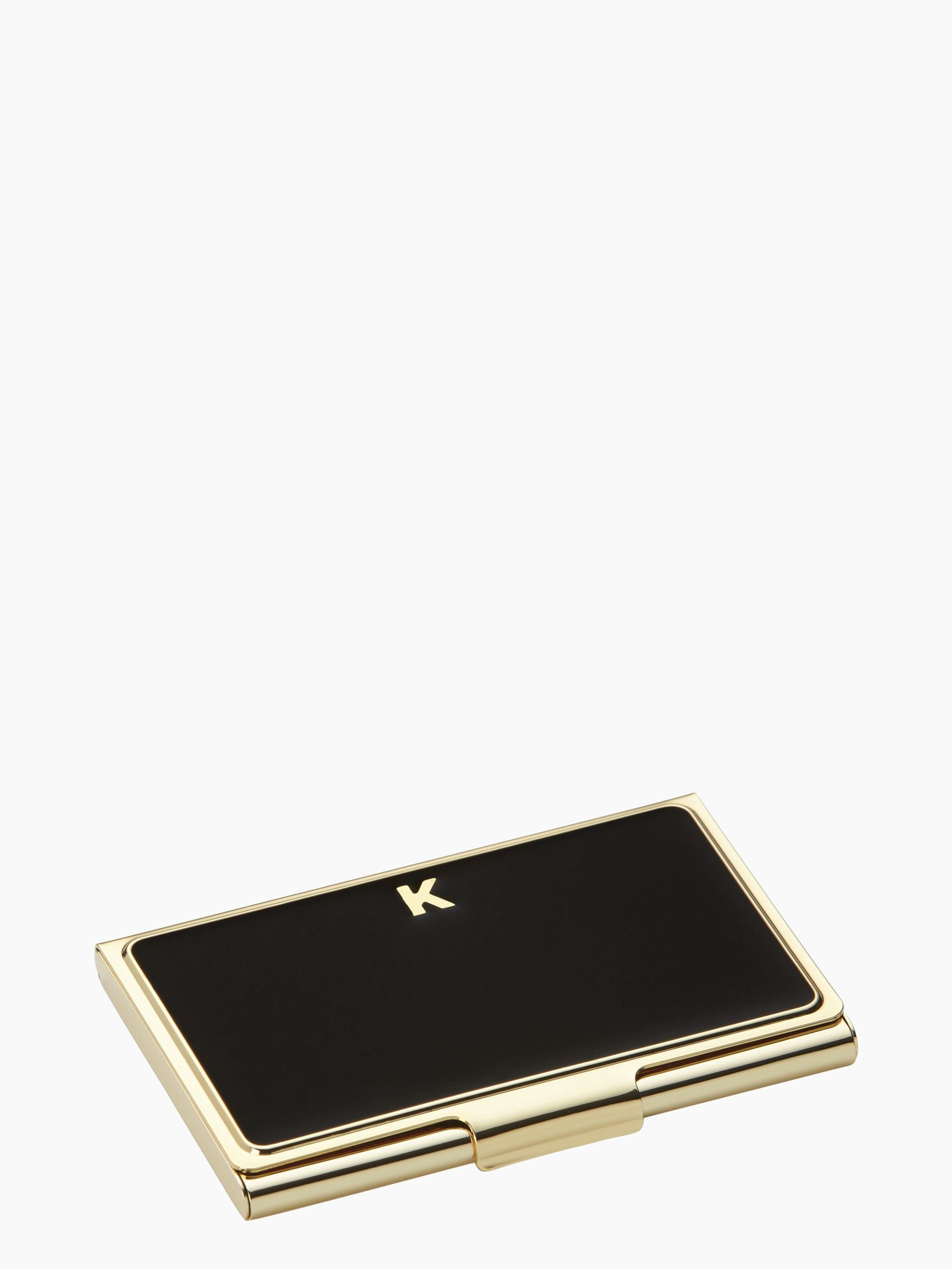 Kate Spade One In A Million Card Holder In K Modesens Monogrammed Business Card Holder Purses Business Card Holders