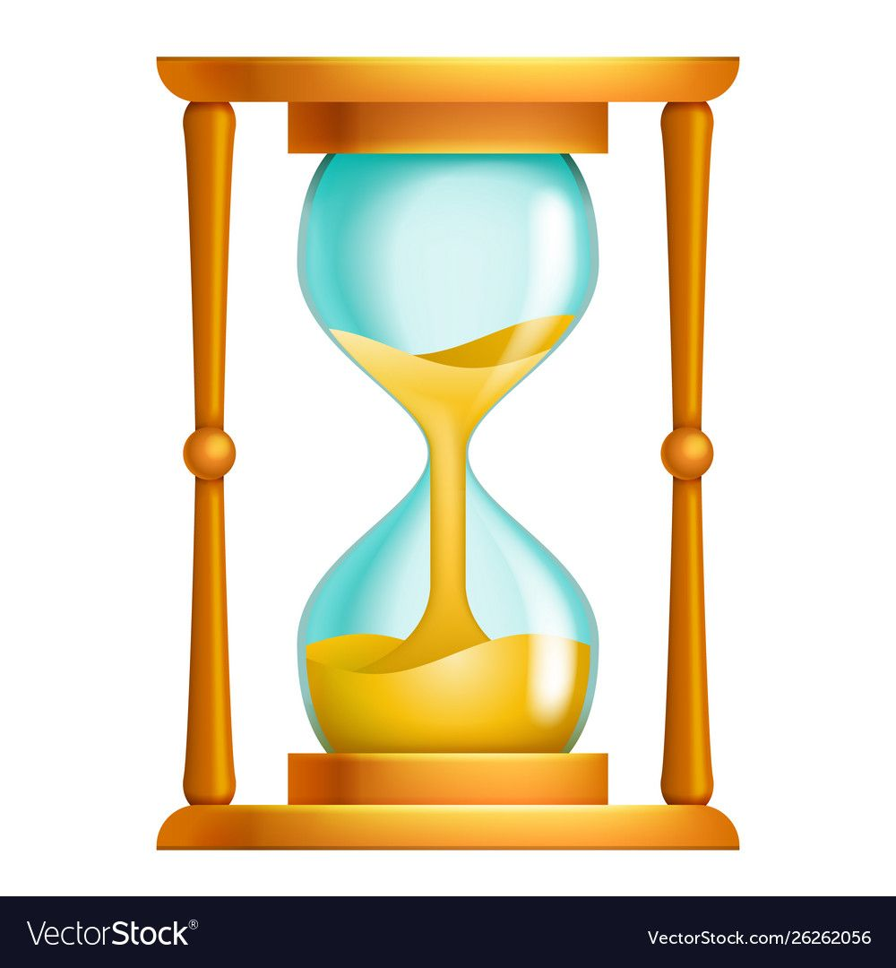 Sand Clock Icon Glass Timer Symbol Royalty Free Vector Image Aff Glass Timer Icon Sand Ad Vector Free Free Vector Images Vector Images