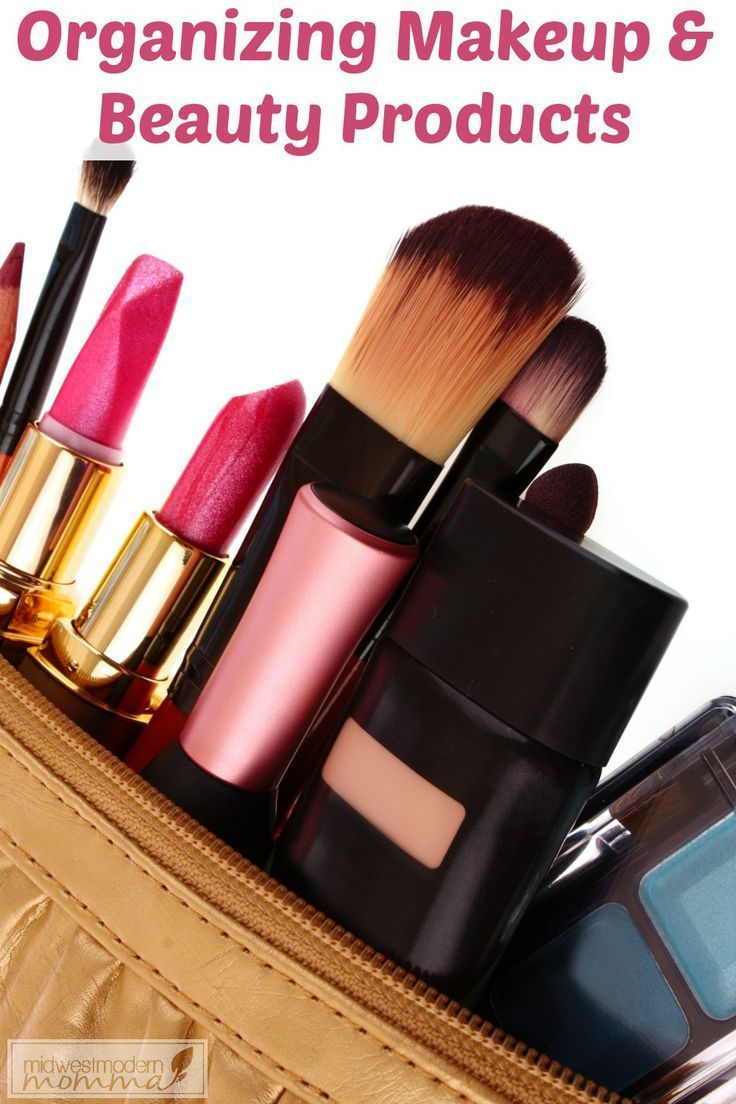 Lovely Organizing Your Makeup U0026 Beauty Care Products | Organizing, Organization  Ideas And Organizations