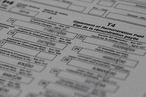 Can you file your tax return without your T4 slip? in 2020 ...