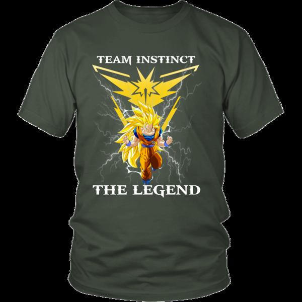595a302a Pokemon Go Goku T-shirt for Team Instinct, Goku Team Instinct tees -  TeeHobbies