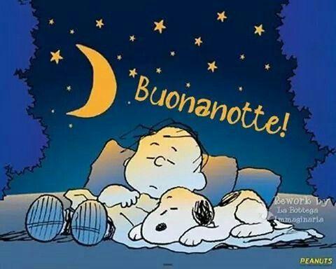 Snoopy buonanotte