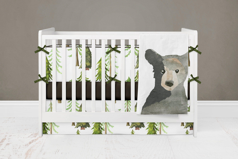 Bear Nursery Bedding Boy Crib Set
