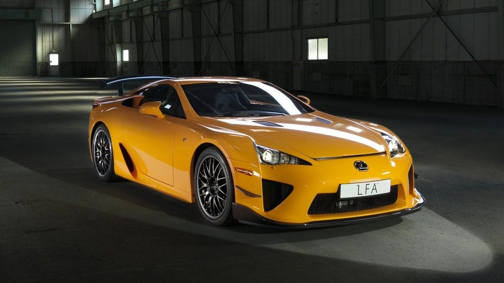 The 30 Most Valuable Japanese Cars In History Lexus Lfa New