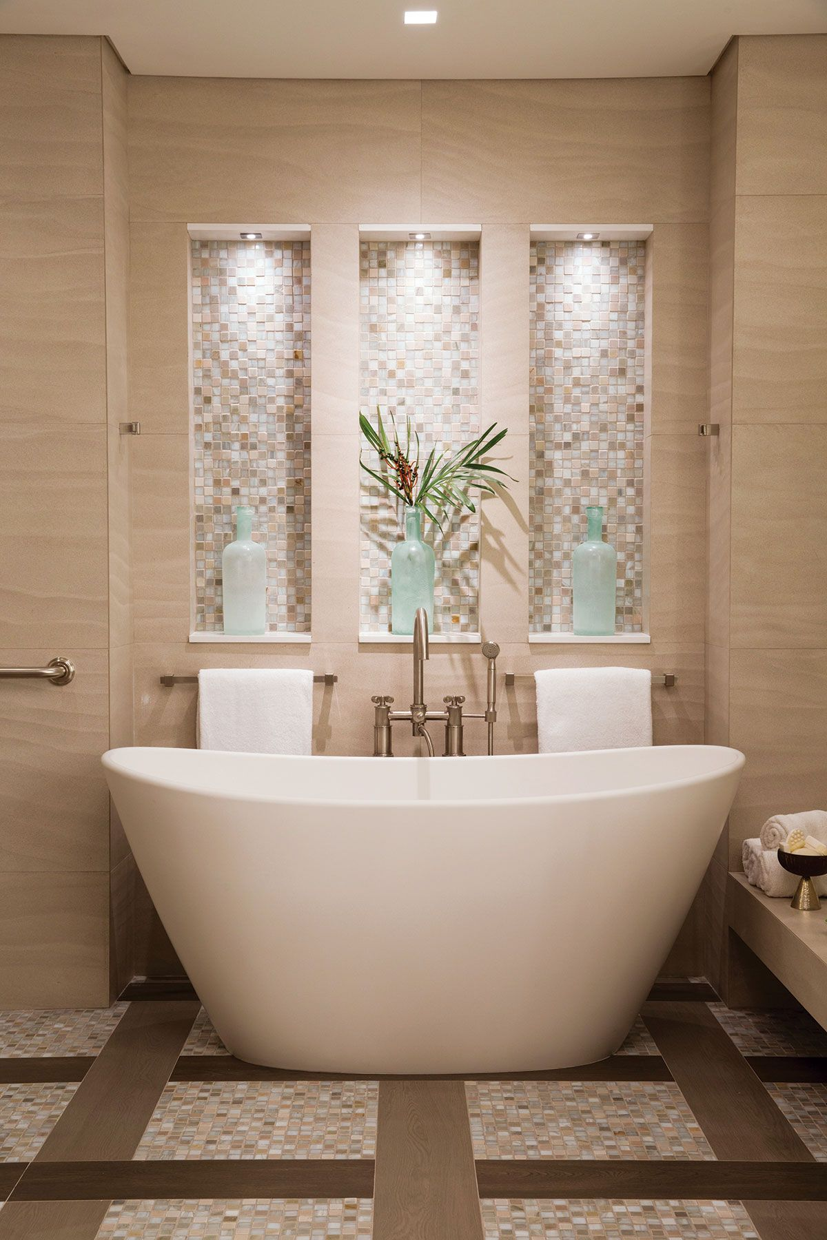 A Life Well Lived Modern Master Bathroom Spa Master Bathroom Luxury Spa Bathroom