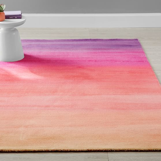 Rainbow Ombre Rug Rugs Pottery Barn Kids Backpack