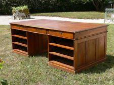 Grand bureau notaire géomètre comptoir meuble métier ilot