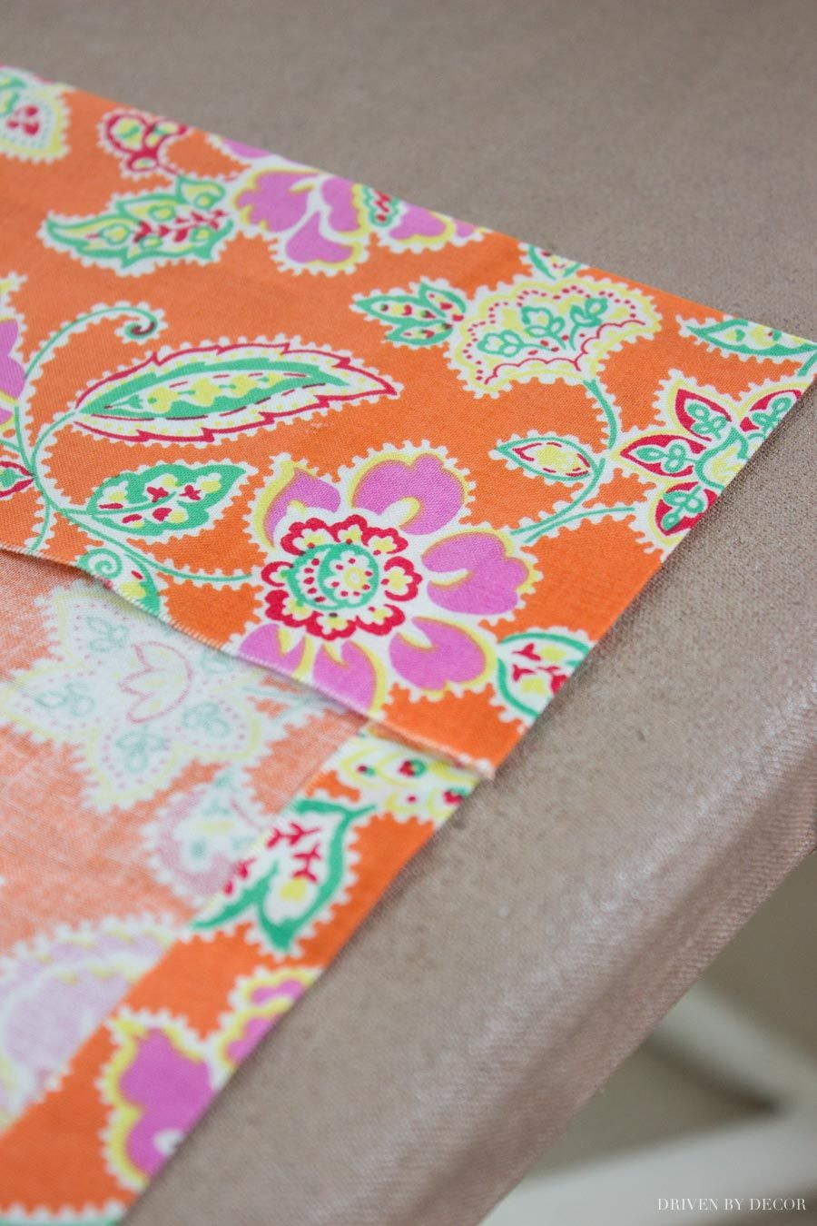 How to Make Fabric Book Covers (Without Sewing!) Fabric