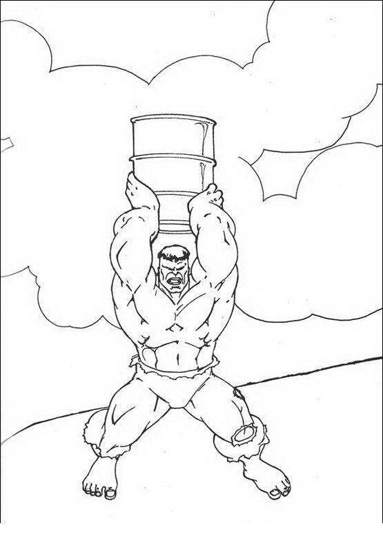 Kleurplaten Hulk 46 Kleurplaat Kleurplaten Voor Kinderen Pinterest
