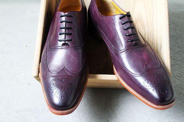 67e07161b0 hot sale men's shoes custom handmade shoes dress shoes genuine calf leather  oxford shoes wingtip brogue shoes HD-150