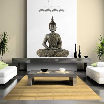 Muursticker rustgevende Boeddha » Muurstickers Azië Style | Estans ...