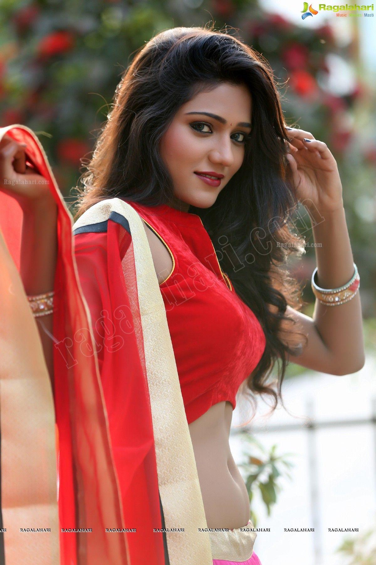 Super Exclusive Beautiful Short Film Actress Shalu -9410