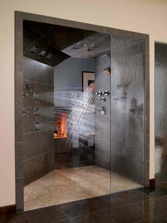 Multiple Shower Head Shower Modern Shower Design Amazing
