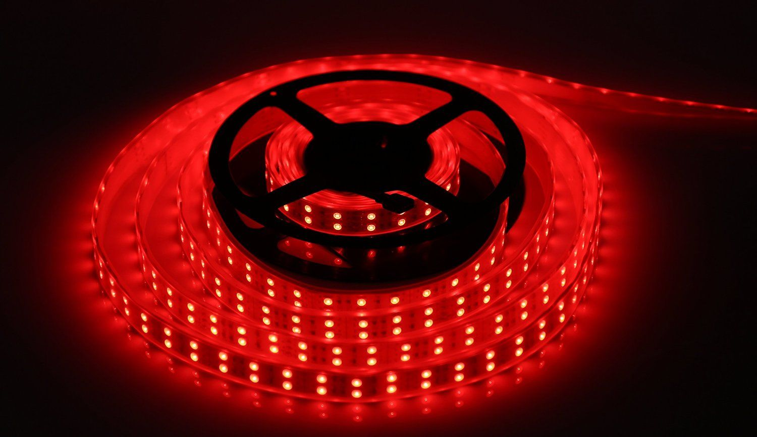 Amazon Com Powermall Led Light Strip 5050 Smd Double Row Rgb Waterproof 16 4ft 5m 600 Leds Flexible Tube Musical I Led Light Strips Strip Lighting Led Lights