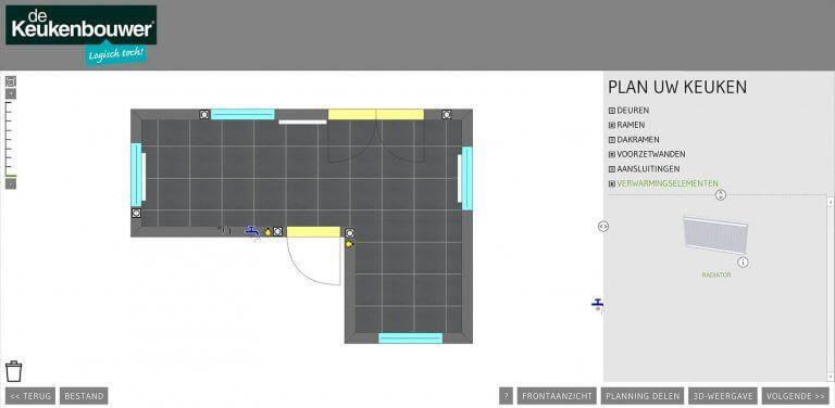 Met Deze 3d Keukenplanner Ontwerp Je Zelf Je Keuken De Keukenbouwer Ontwerp Tekenen 3d Tekeningen