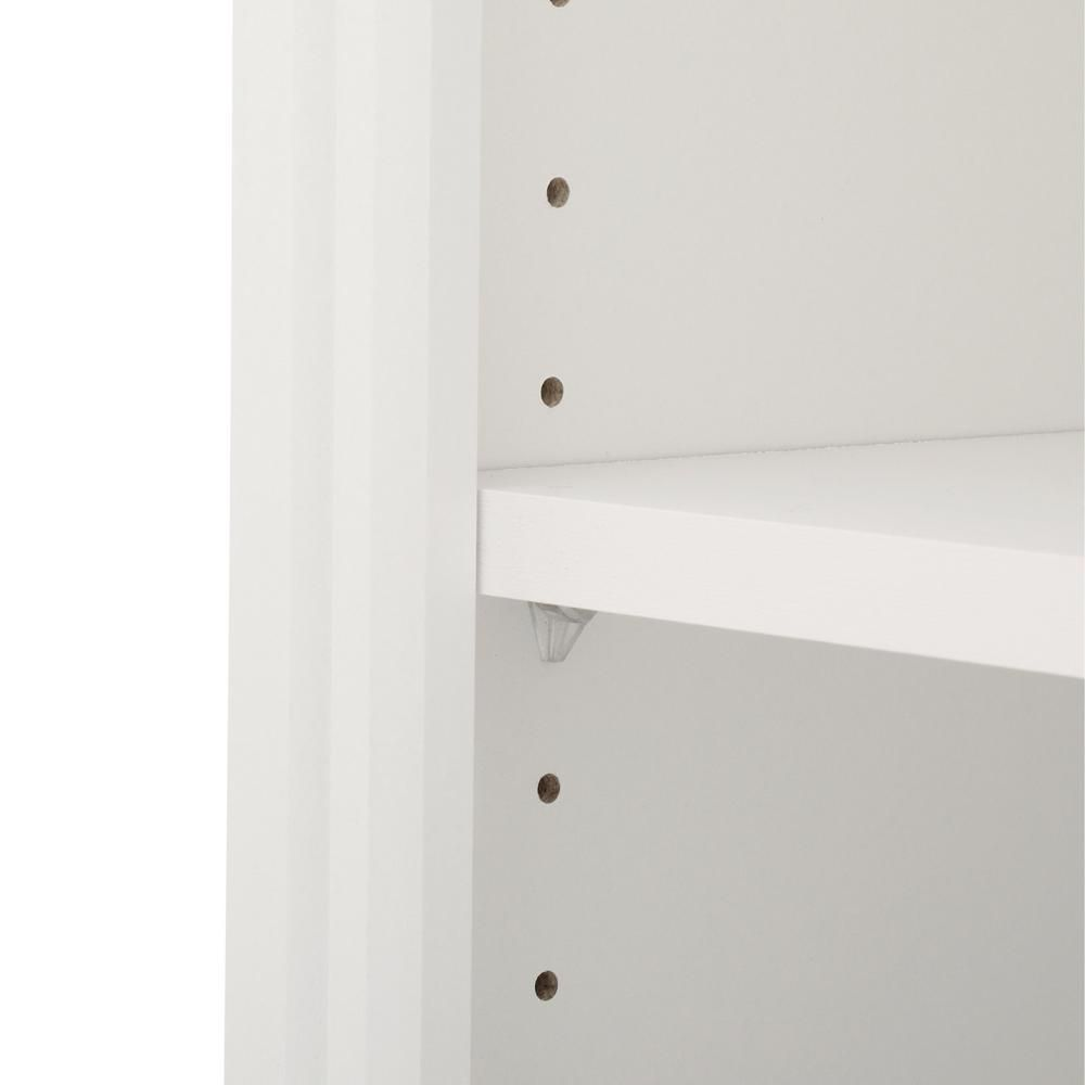 Closetmaid Impressions 14 5 In D X 25 1 In W X 82 5 In H White Standard Wood Closet Kit 14865 In 2020