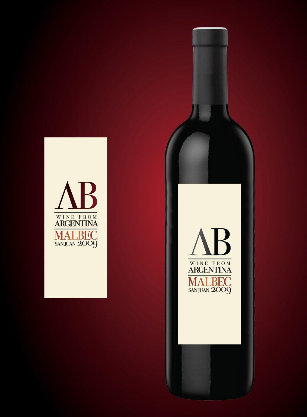 Rediseno Etiqueta Vino Ab De Antigua Bodega Etiquetas De Vino Vino Bodegas