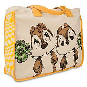Disney Chip 'n Dale Canvas Tote | Disney StoreChip 'n Dale Canvas Tote - Our adventurous chipmunks spotlight this stylish canvas tote with sunny yellow trim. Since chasing these guys will give you a workout, Chip 'n Dale have agreed to stay put on this spacious tote while accompanying you wherever you go...
