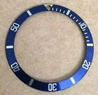 Genuine Rolex Submariner 16613/16618 Blue/gold Tritium  Bezel Insert #Rolex #Watch #rolexsubmariner