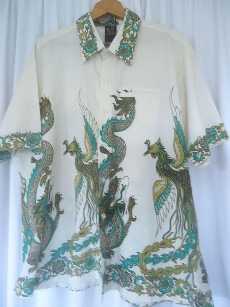 Northern Passages Fashion, Mens hawaiian shirts, Dragon