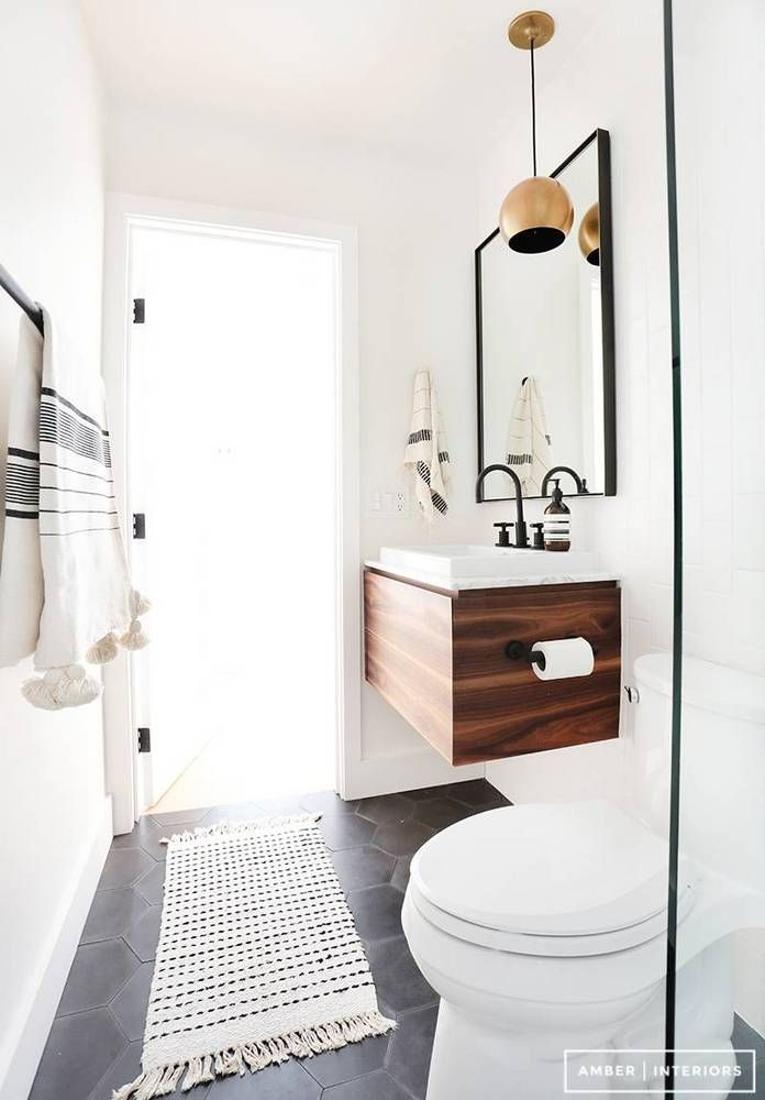 12 Small Bathroom Makeovers That Make The Most Of Every Inch With