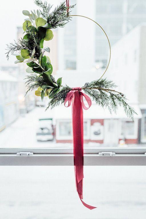 Photo of Metal tire wreath