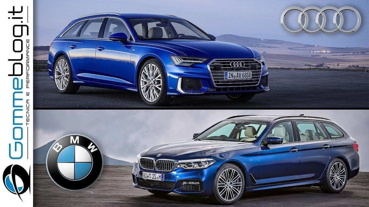 Comparison: BMW 5-series Touring VS Audi A6 Avant VS ...
