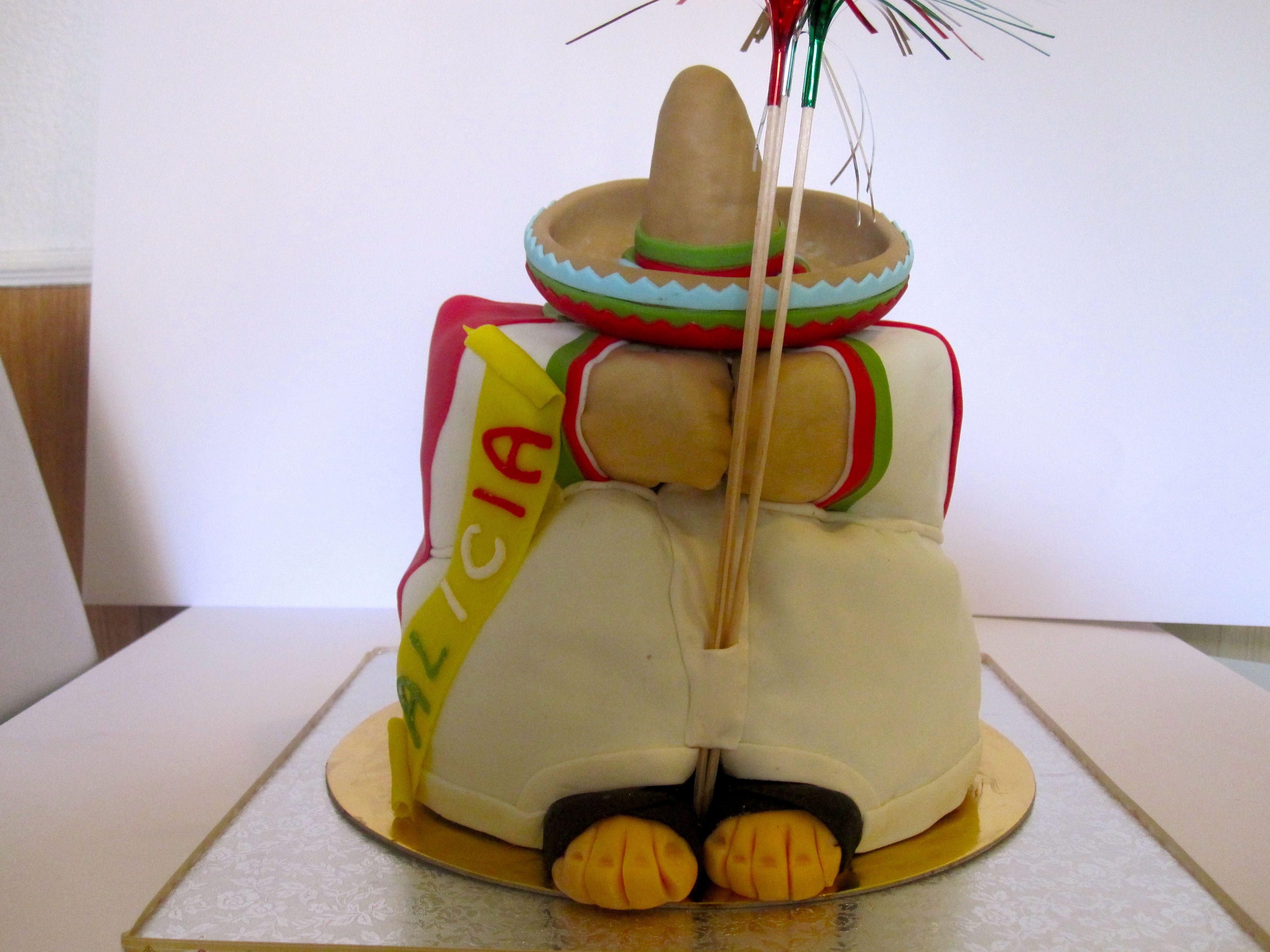 Tarta mexicano típico. Typical mexican cake.