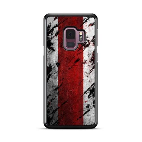 Mass Effect N7 Grunge Minimalist Symbol Samsung Galaxy S9 Plus