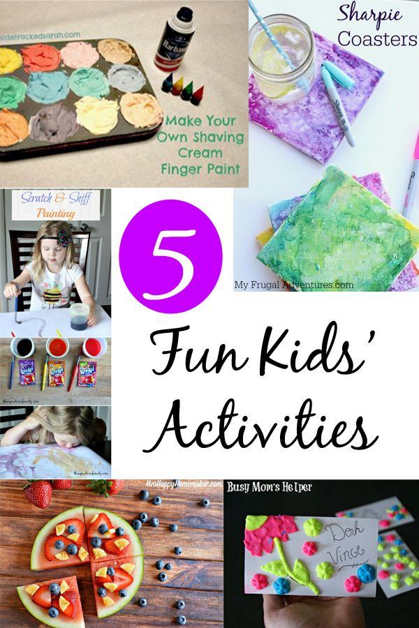 Fun Kids Activities At The Project Stash Fun Activities For Kids