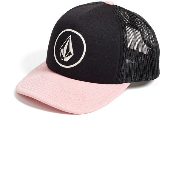 Junior Volcom  Nacho  Trucker Hat ( 21) ❤ liked on Polyvore featuring  accessories fc51a3124c7b