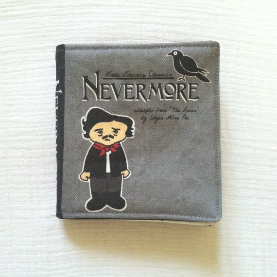IN STOCK small Nevermore Little Literary by LittleLiterary on Etsy