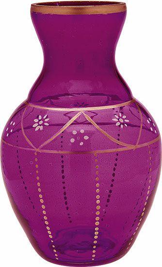 Large Purple Vase Vases Bowls Vases Pinterest Purple