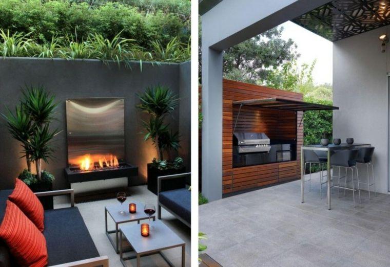 Decoracion de jardines y terrazas - 35 ideas modernas - Smallest