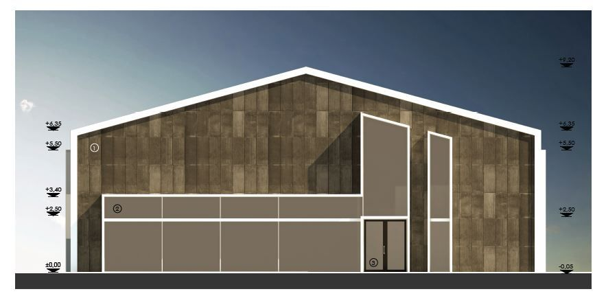 Metal warehouse conversion metal hall architecture design for Warehouse building design