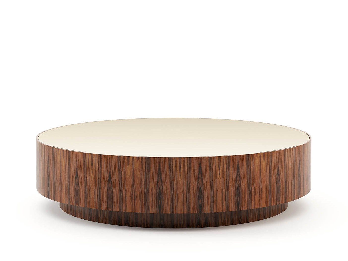 Gold Coffee Table By Laskasas Round Wooden Coffee Table Gold Coffee Table Wooden Coffee Table [ 1053 x 1404 Pixel ]