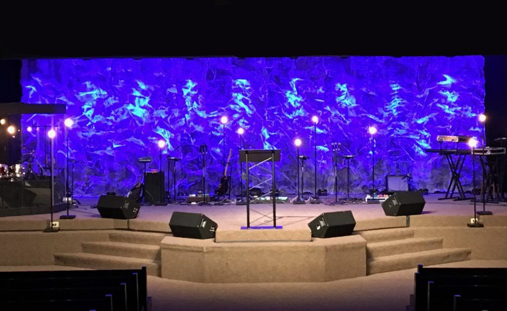 texture and light dots from apostiolic campgrounds in millersport oh church stage design ideas - Stage Design Ideas