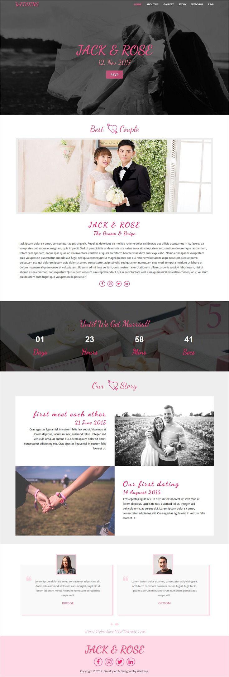 Beautiful, elegant and modern design responsive HTML5
